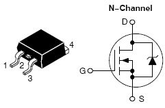 NTB75N06, Power MOSFET 75 Amps, 60 Volts N-Channel D2PAK